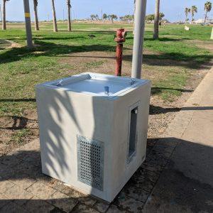 ברזיה 5004 עם מערכת מים קרים