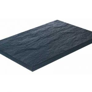 Black Concrete Slab Ardósia